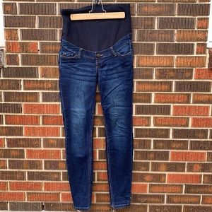 Thyme Maternity Jeans Dark Wash XS